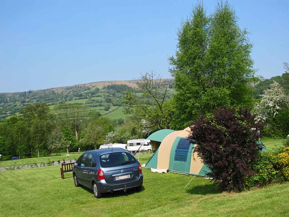 campsite top terrace