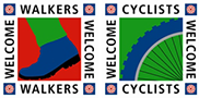 Walkers Welcome | Cyclists Welcome