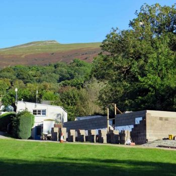 New facilities at our Brecon Beacons campsite